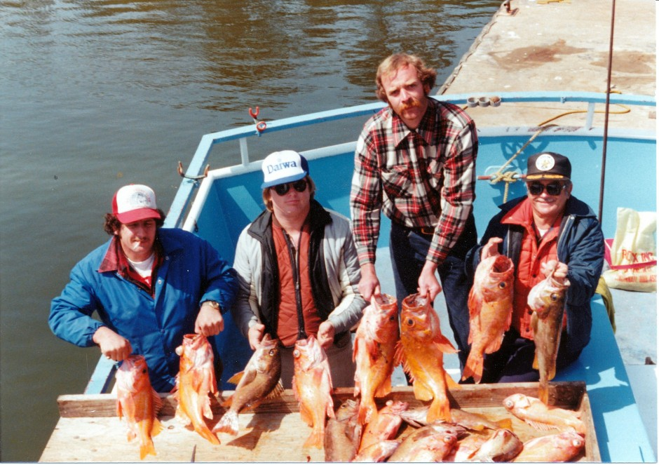 Fort Bragg bottomfish 1982
