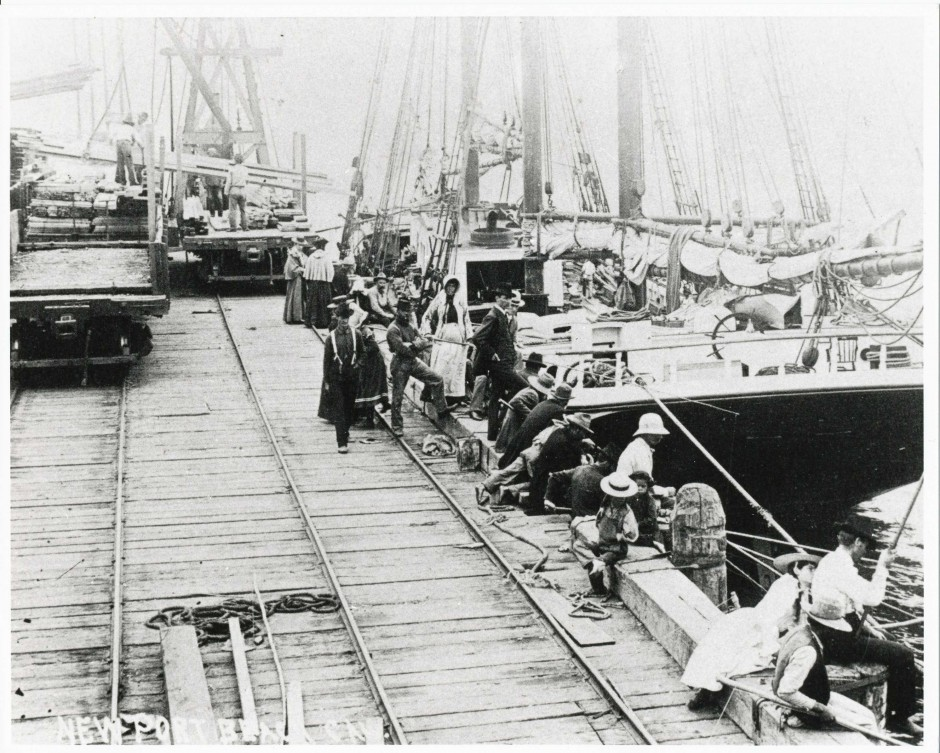 McFadden Wharf, 1893