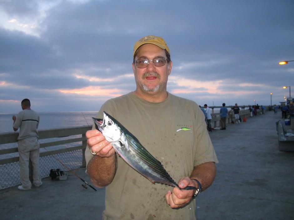 Ocean beach pier for San diego pier fishing