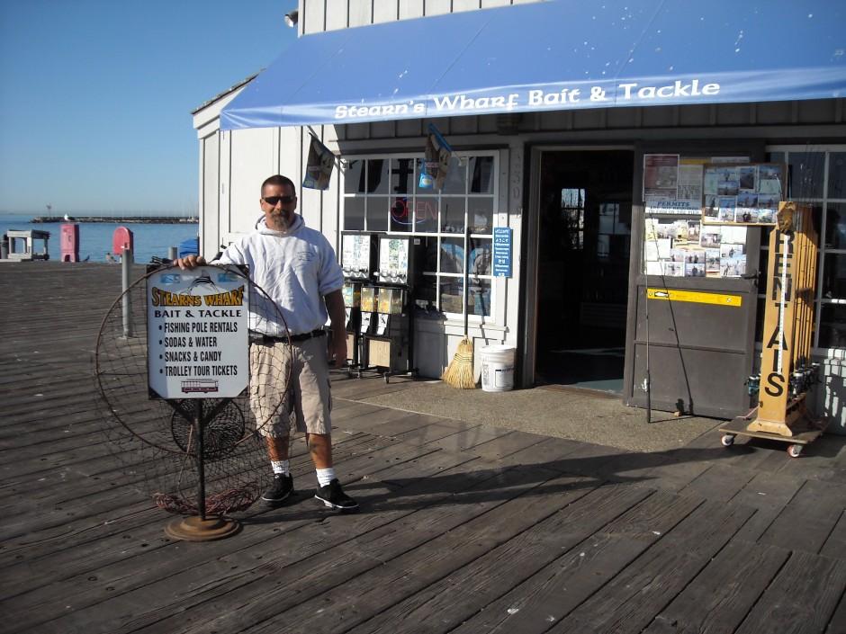 Stearns Wharf Baitshop
