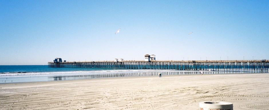 Oceanside pier pier fishing in california tattoo design bild for Oceanside fish report