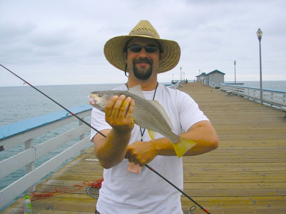 Ben and Yellowfin Croaker