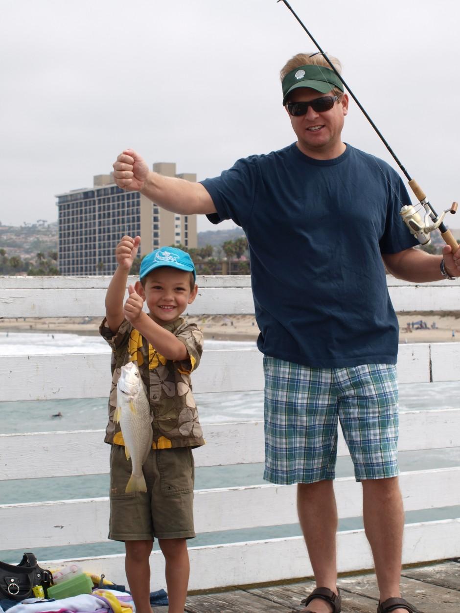 Yellowfin Croaker, Dave and Adam
