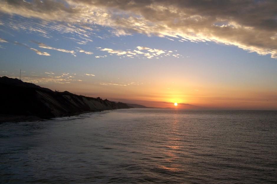 Gaviota Pier dawn