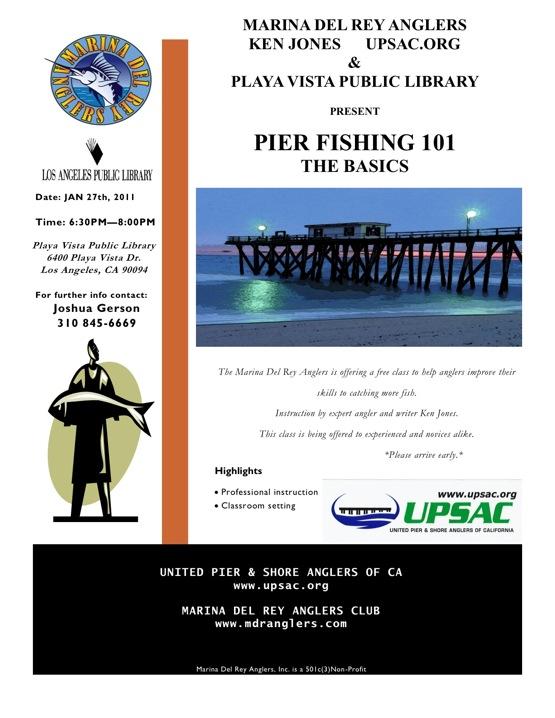 Pier Fishing Class 2011