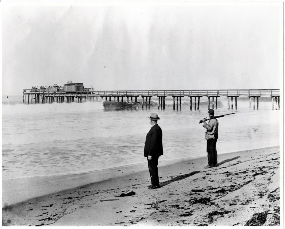 Imperial Beach Pier 1910