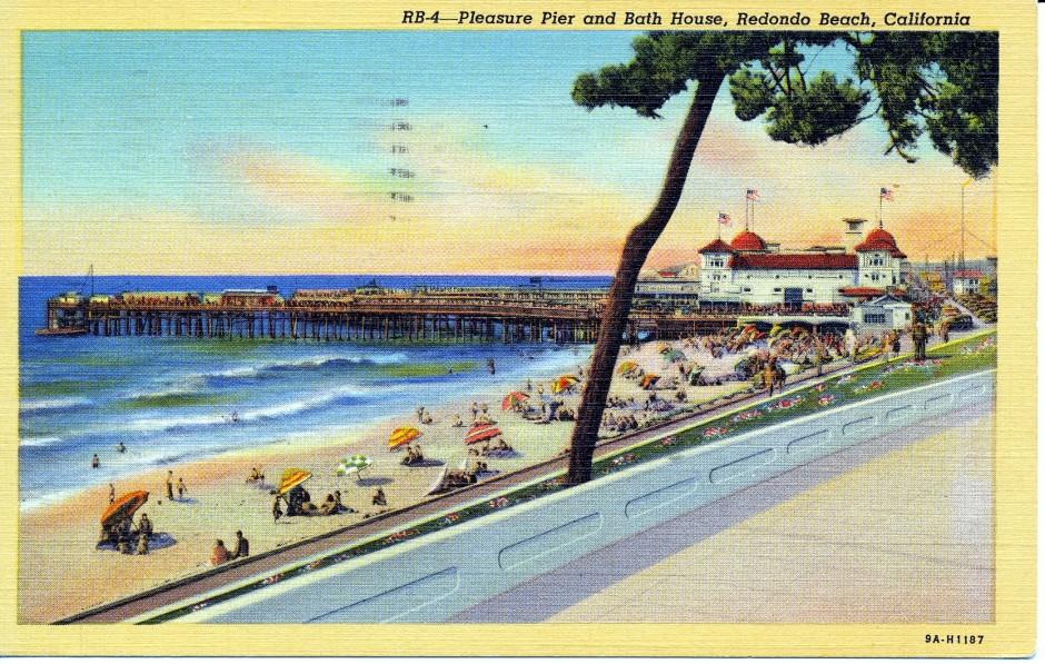 Redondo Pleasure Pier 1939