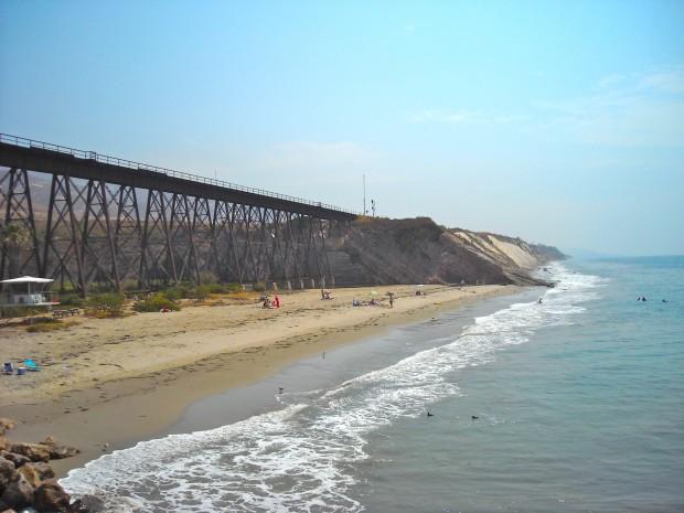 Gaviota pier through the years for Jones beach fishing pier