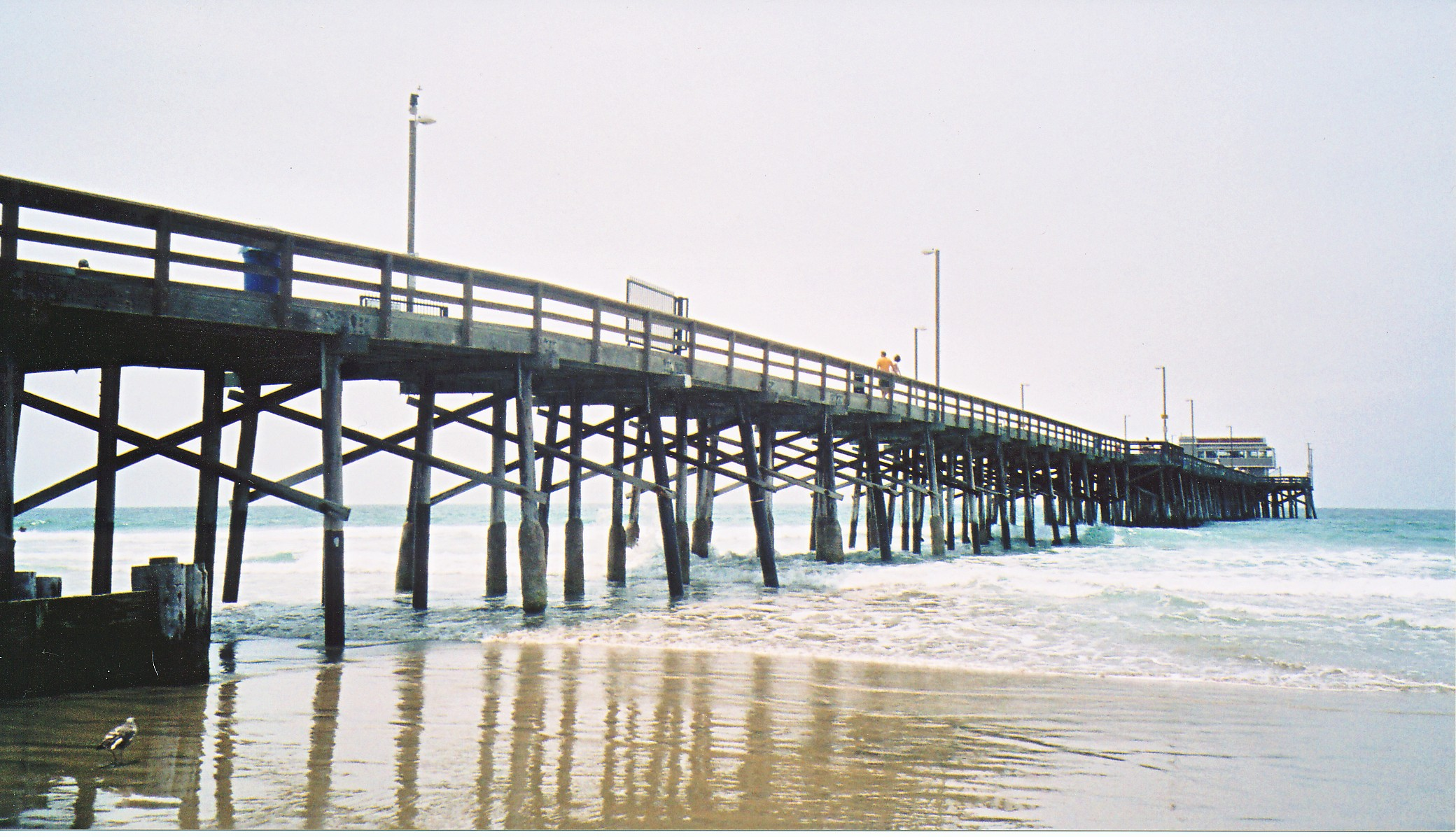 Newport pier1 for Jones beach fishing pier