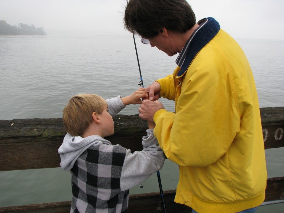 Goleta_Pier_20_Father_Son