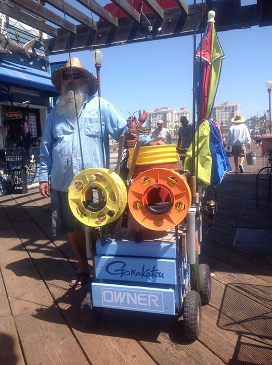 Oceanside Pier Cart