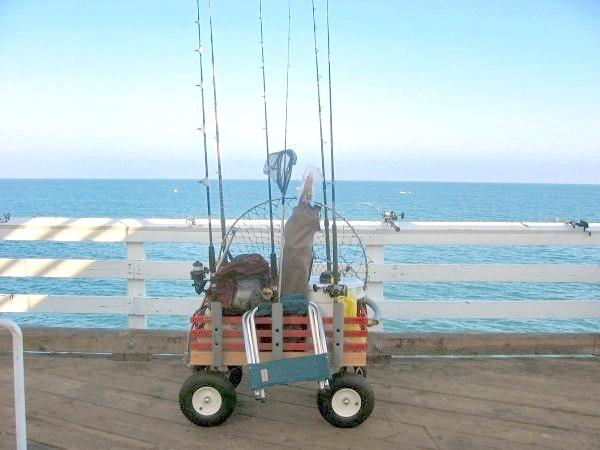 Homemade pvc rod holders related keywords homemade pvc for Homemade fishing cart