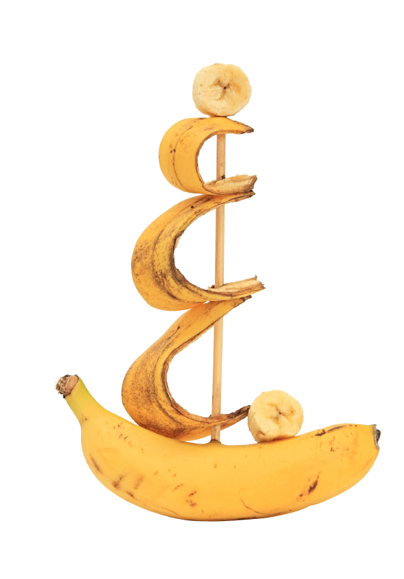 Ship from a banana.