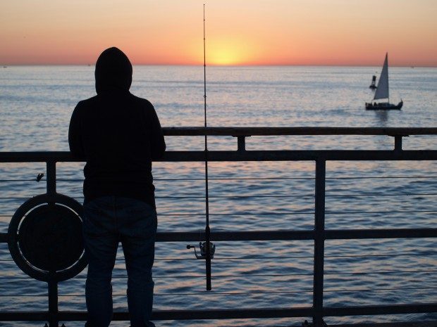 The pier rats speak vol 1 chapter 2 for Redondo beach fishing report