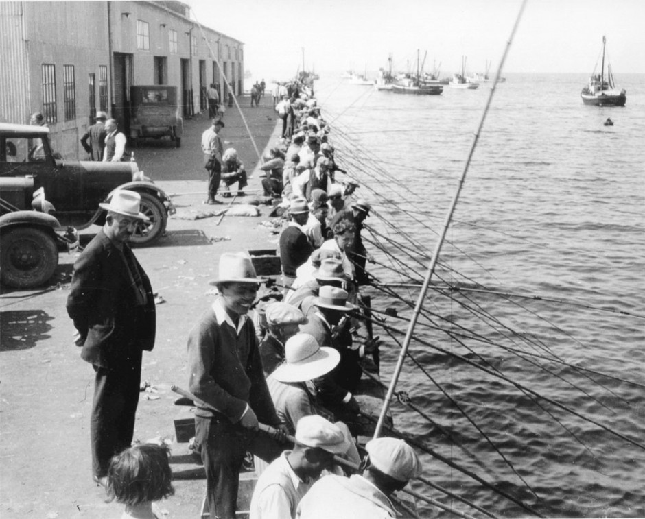 Wharf_No.2_Fishing_1935