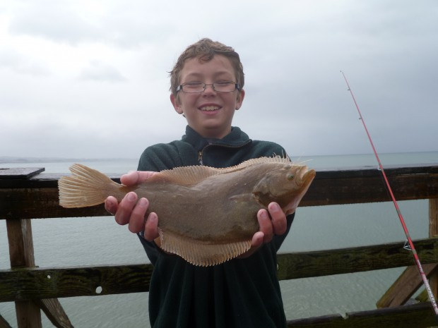 Sand sole for Pacifica pier fishing report
