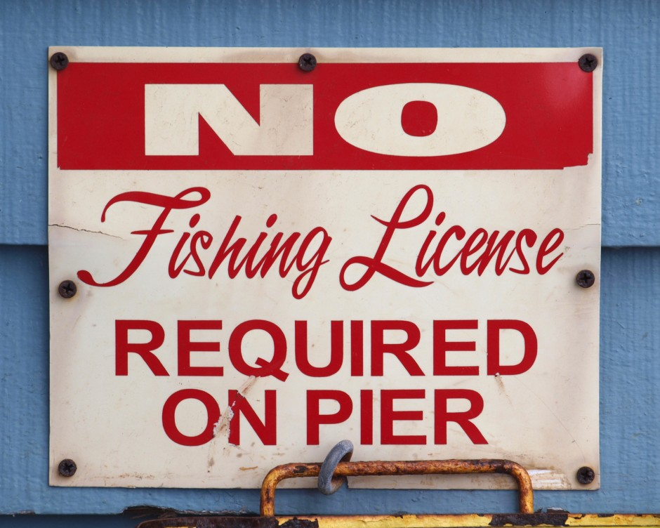 Oceanside pier for Do you need a fishing license on a pier