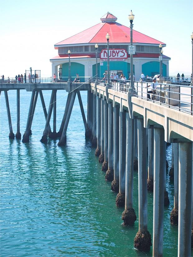 Huntington beach pier for Huntington beach pier fishing