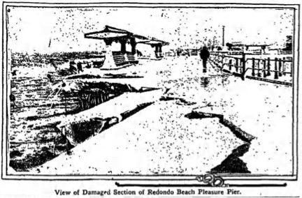 Redondo Pier Damage 1919