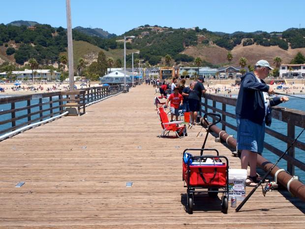 Ken jones writer pierfisherman for Avila beach fishing